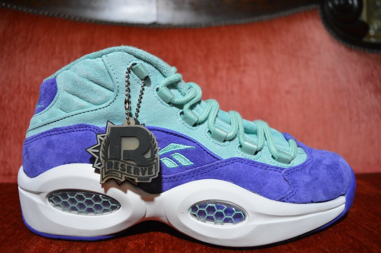 SNS x PACKER SHOES REEBOK QUESTION MID US 8.5 TOKEN NYC packers sneakersnstuff