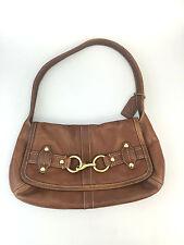 Coach Ergo Bag Brown Leather Designer Purse Handbag Shoulderbag