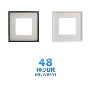Détails Sur Ikea Ribba Cadre Photo Noir Blanc Mount 50x50cm 23x23cm 21x30cm Afficher Le Titre D Origine
