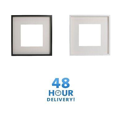 Ikea Ribba Cadre Photo Noir Blanc Mount 50x50cm 23x23cm 21x30cm Ebay