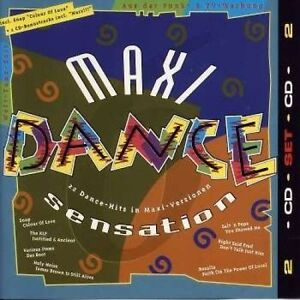 Maxi-Dance-Sensation-6-1992-Snap-KLF-Salt-039-n-039-Pepa-Interactive-De-l-2-CD