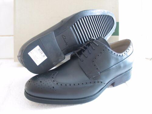 pelle di 7 Nuove nera brogue Gabwell in taglia scarpe Clarks qTTxX4tR