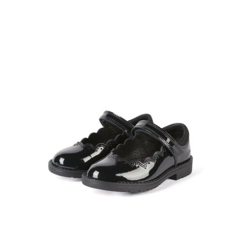 Inf Shoes KICKERS Lachly Black Patent Mary Jane Girls