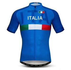 Maglia Ciclismo ITALIA 2019 abbigliamento estivo maglietta shirt