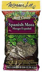Mosser Lee Decorative Spanish Moss, 250-Cubic Inch