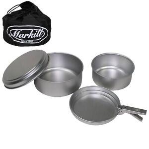 Markill-Kochgeschirr-Set-6-teilig-Cayenne-Alu-Griffzange-Beute-2x-Topf-amp-Pfanne