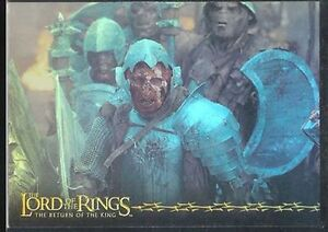LOTR ROTK Return Of The King Prismatic Foil Card #9//10