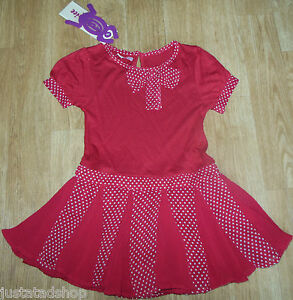 Kids' Clothes, Shoes & Accs. Billiger Preis Beetlejuice Girl Red Party Dress 18-24-36 M 2-3 Y Bnwt Dots