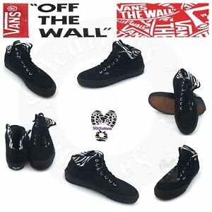 a737a4dce692 Image is loading VANS-Authentic-HI-2-Zebra-Black-Black-W7-