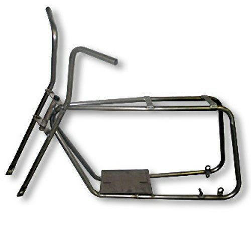 azusa mini bike frame fork kit steel no weld custom mini chopper parts ebay - Mini Chopper Frame