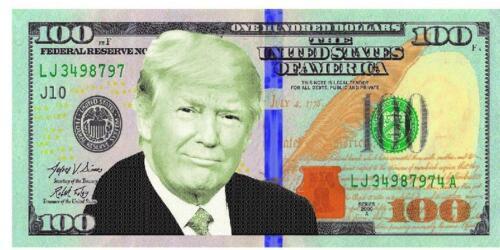 Donald Trump Beach Towel POTUS Make America Great Again MAGA Money President USA