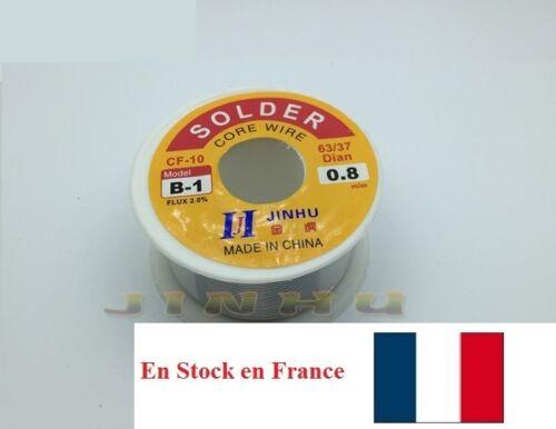 Souder Soudure Étain plomb Electronique Dia.0.8mm 1.7m//50g//100g