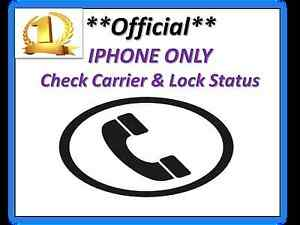 check iphone lock status iphone sim lock status network amp carrier check service 13809