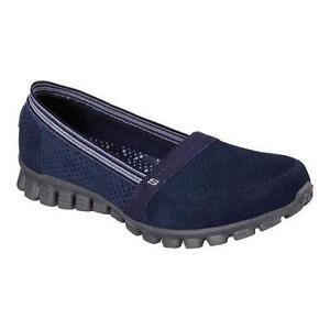 Skechers Women's EZ Flex 2 Tweetheart Slip-on Sneaker Navy [145Q]