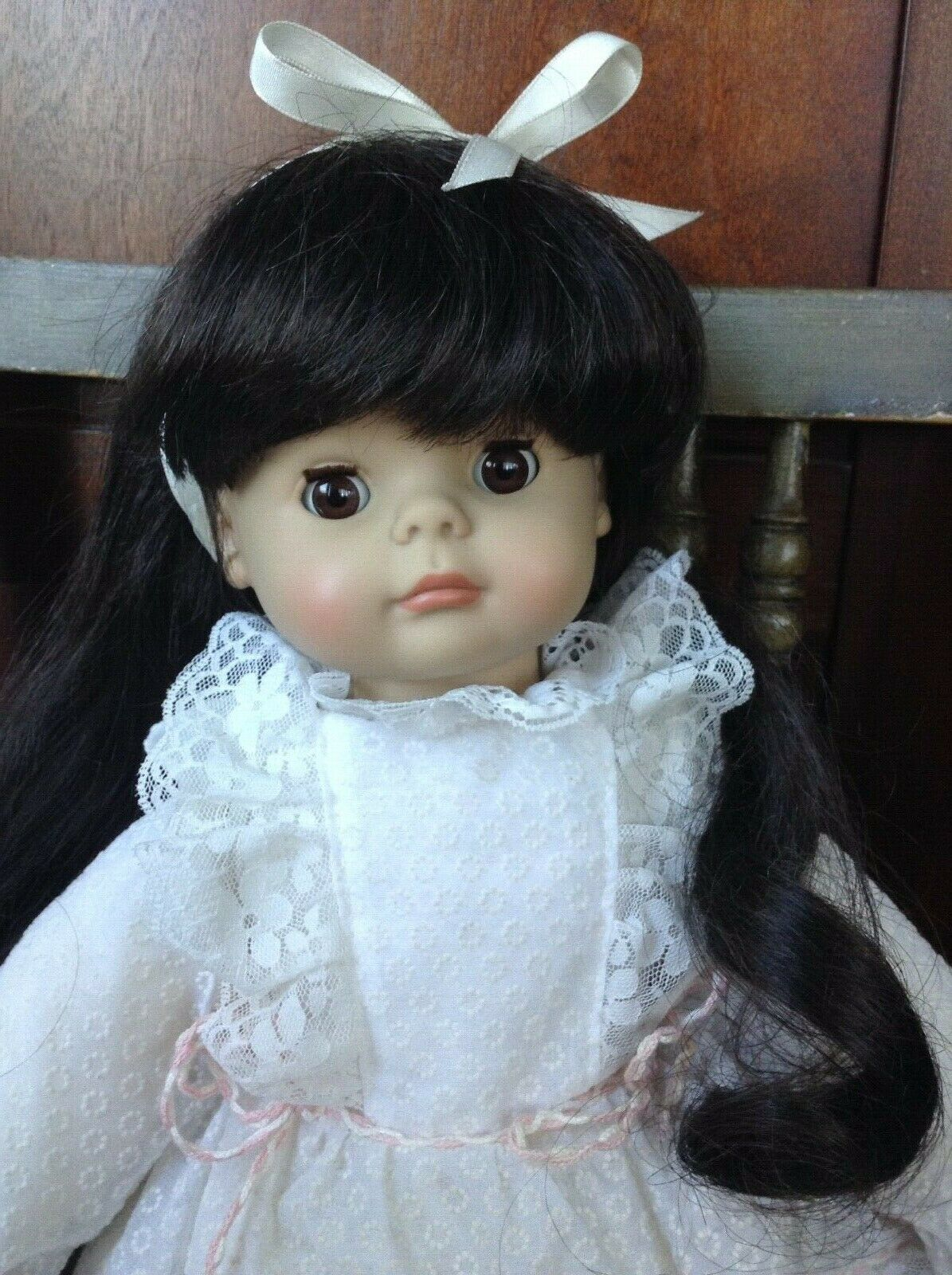 ENGEL PUPPE 17  doll with original outfit