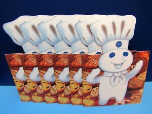 New 6 Pillsbury Doughboy Holiday Christmas Cookie Candy