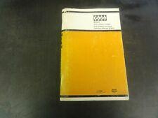Case W14h Articulated Loader Operators Manual 9 3431