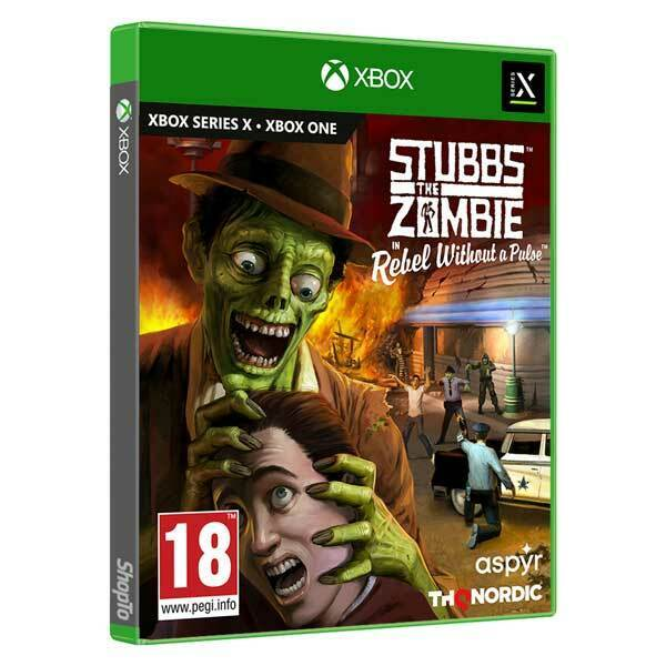 Stubbs the Zombie in Rebel Without a Pulse Xbox X *PRE-ORDER* Out 26/10/21