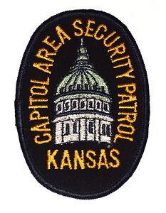capital city Topeka Kansas Police patch