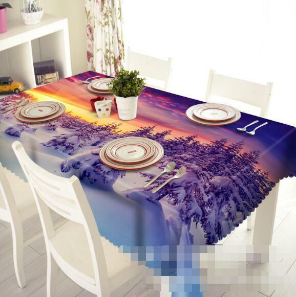 3D Forest 71 Tablecloth Table Cover Cloth Birthday Party Event AJ WALLPAPER AU