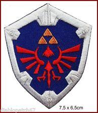 Legend of Zelda Hylian Shield Link Tri Force Hylian Knight Shield Patch Iron on