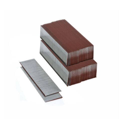 "Smooth Shank Steel Galvanized Staples// Brad Nails 1-1//4/"" Length 18 ga 10,000 p"
