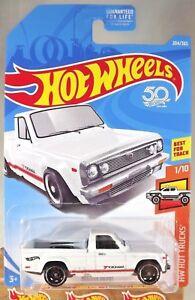2018-Hot-Wheels-204-HW-Hot-camiones-1-10-Mazda-Repu-Blanco-Con-Negro-St8-SP-50th-Ann