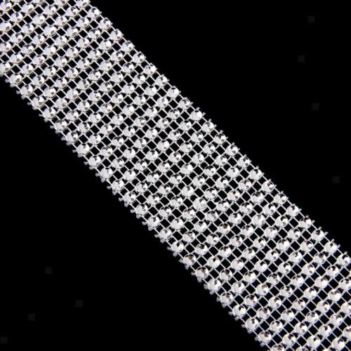 Strass Kristall Perlen Kette Borten Banding Trim Bände Applikation