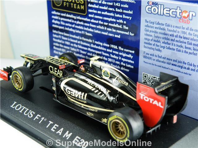 LOTUS LOTUS LOTUS F1 Romain Grosjean modellini di auto 1/43RD 2012 FORMULA UNO CORGI tipo Y0675J ^ * ^ 9ea660