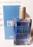 Avon Individual Blue Men's Eau De Toilette Spray Genuine Perfume 100ml