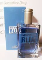 Avon Individual Blue Men's Eau De Toilette Spray Genuine Perfume 100ml