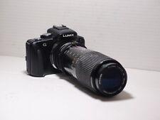 70-210mm= lens 140-420mm on LUMIX G HD 4K Micro 4/3 Digital PEN GH2 G2 G5 G3 GM1