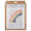 Trimits Latch Hook Kit Rocket Unicorn Sunflower Butterfly Rainbow Happy Face