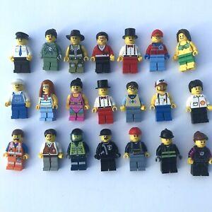 Lego-Minifigur-Menge-10-Leute-Stadt-Town-Buerger-zufaellig-ausgewaehlt
