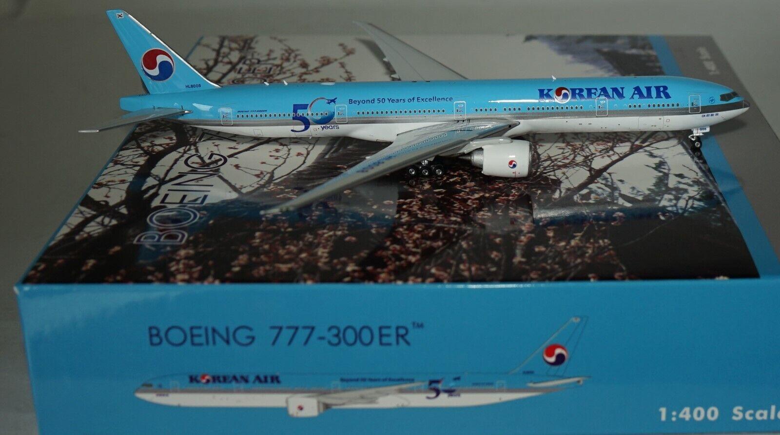 Phoenix PH04253 Boeing 777-3B5ER Korean Air  50 Years  HL8008 in 1 400