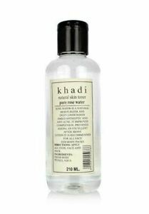 Khadi-Natural-Pure-Rose-Water-For-Glamour-And-Glow-skin-210Ml-free-ship