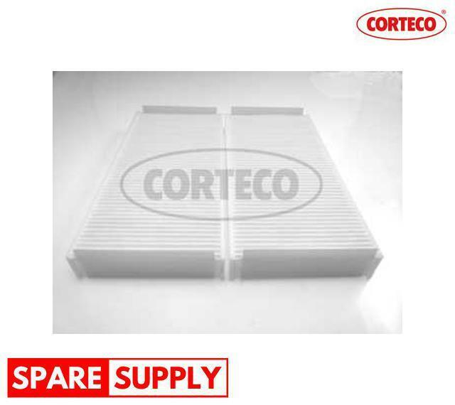 FILTER, INTERIOR AIR FOR MAYBACH MERCEDES-BENZ CORTECO 21651195
