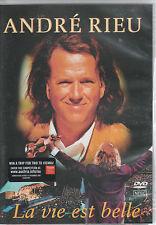 ANDRE RIEU - LA VIE EST BELLE - DVD - NTSC FORMAT - ALL REGIONS PLAYER NEEDED