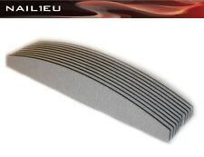 10 x PROFI Feilen HALBMOND 150/150 zebra, 30mm/180mm, 10er Pack / Nagelfeilen