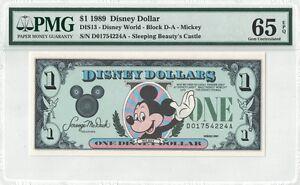 1989  $1 Mickey   DA Series  NEW