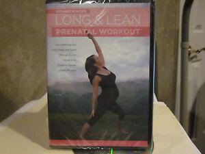 Long Lean Prenatal Workout Dvd Suzanne Bowen Pregnancy Yoga New Ebay