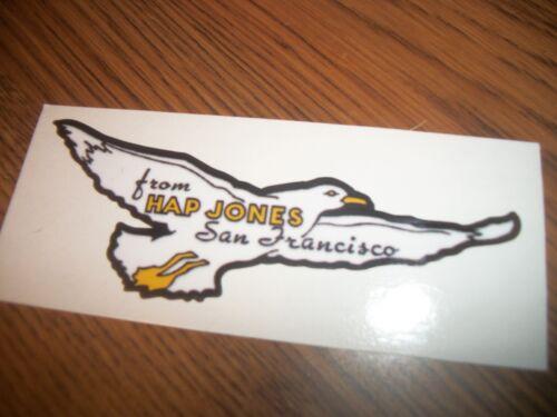SAN FRANCISCO HAP JONES DECAL GULL DECAL 1