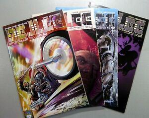 ASPEN-Comics-DELLEC-2009-1-2-VARIANT-5-LOT-VF-NM-9-0-Ships-FREE