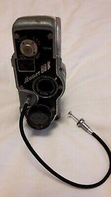 Bauer 88 B Filmkamera Mit Schneider - Kreuznach Objektiv 1:1,9 / 13mm 5421179 Dauerhaft Im Einsatz