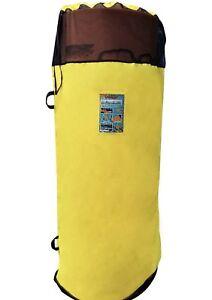 Image Is Loading Storage Bag Yellow Yellow Aqua Lily Pad Bullfrog