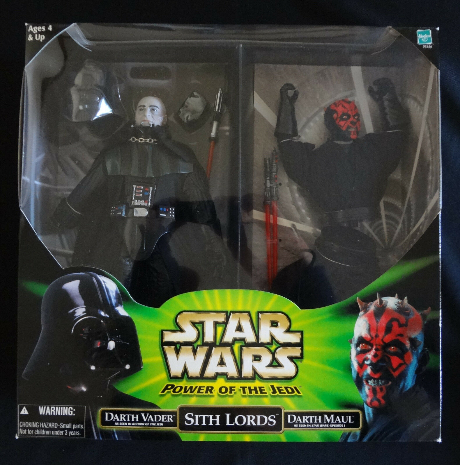 Star Wars DARTH VADER DARTH MAUL Sith Sith Sith Lords action figures NEW Power Jedi 12  0fe0c7
