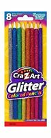 Cra-z-art Glitter Colored Pencils Carded 8 Count (10432) Free Shipping