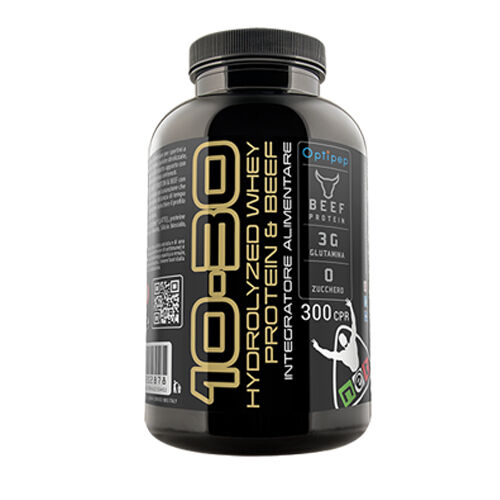 Net Integratori 10=30 HYDROLYZED WHEY PROTEIN & BEEF 300 cps