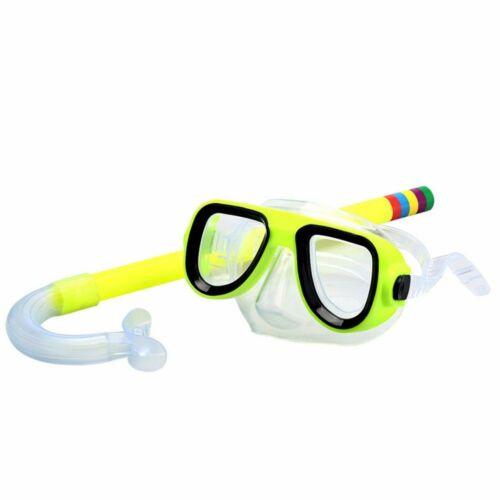 Kinder Schnorchelmaske Schnorchelset Taucherbrille Tauchermaske Schwimmbrillen Y