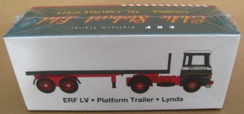 ERF LV Platform tráiler Lyndia atlas Edition 1:76